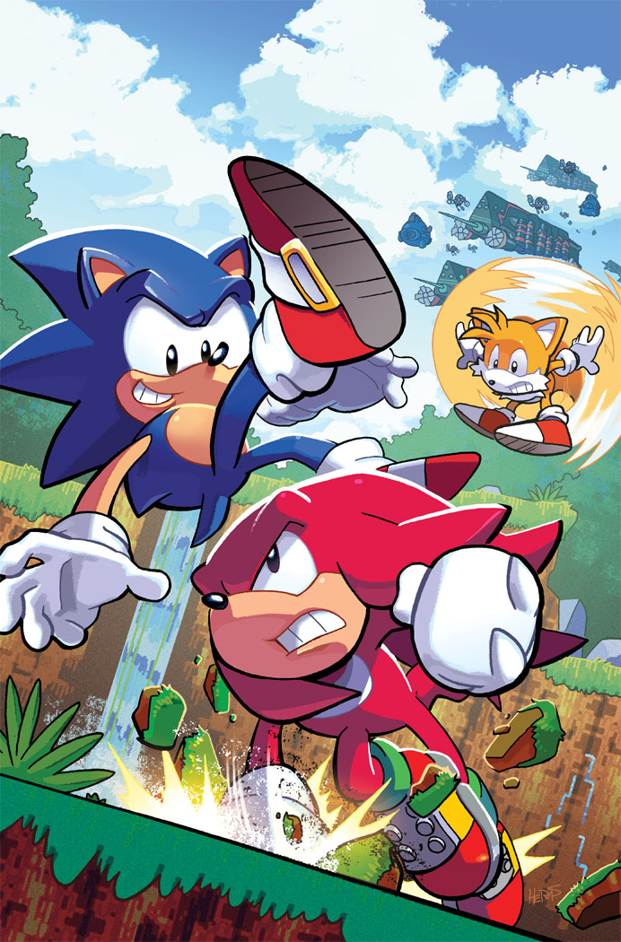 Sonic the Hedgehog 291 Variant