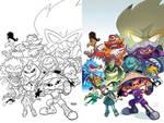 Sonic Universe 84 Cover