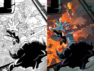 Sonic Universe 85 Cover