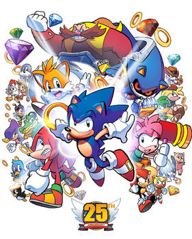 Happy 25th, Sonic the Hedgehog
