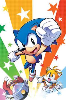 Sonic FCBD 2017 Cover