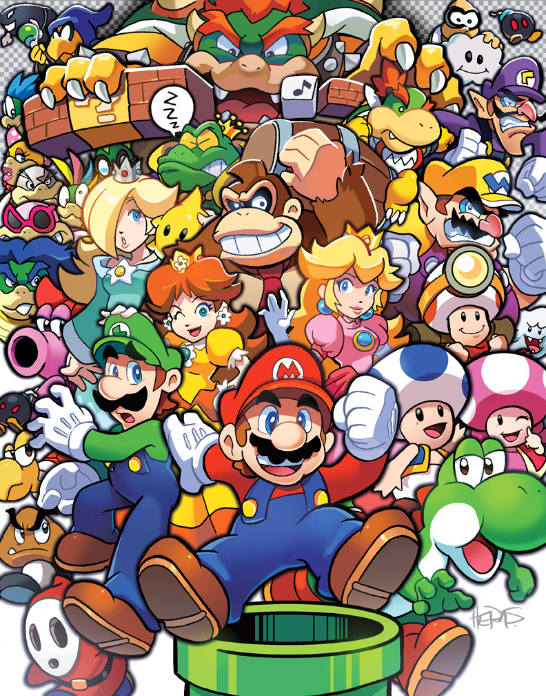 Do The Mario By Herms85 On Deviantart