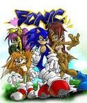 Lamont's Sonic Peeps Colored