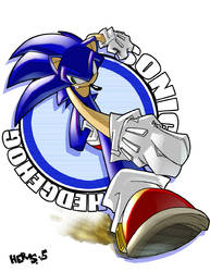 Run, Sonic, Run by herms85