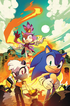 Sonic the Hedgehog (IDW) #4 Cover