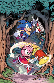 Sonic the Hedgehog 02 Cover (IDW)