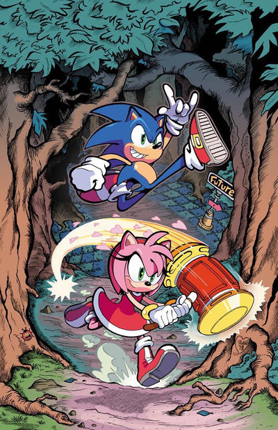 Sonic The Hedgehog 02 Cover Idw By Herms85 On Deviantart