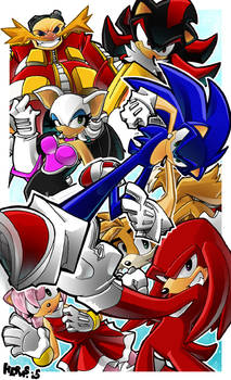 Sonic and the Sega Squad
