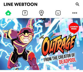 From the creator of Deadpool... OUTRAGE!!