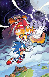 Sonic the Hedgehog (IDW) 01 Variant