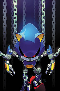 Sonic the Hedgehog (IDW) 12 Cover