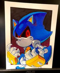 Copic Metal Sonic