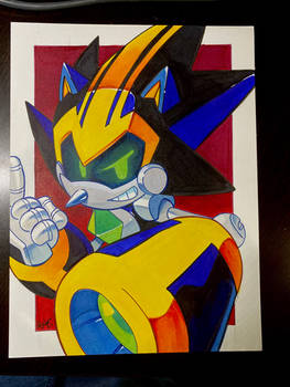 Copic Shard the Metal Sonic