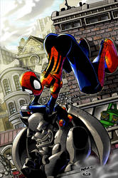 Spider-Girl in the Colors by herms85