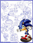Sketches-Sonic the Hedgehog