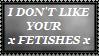 Anti-Fetish Stamp by SacredDragon