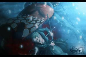 Zoro vs Hordy by Sinist3r-Depht