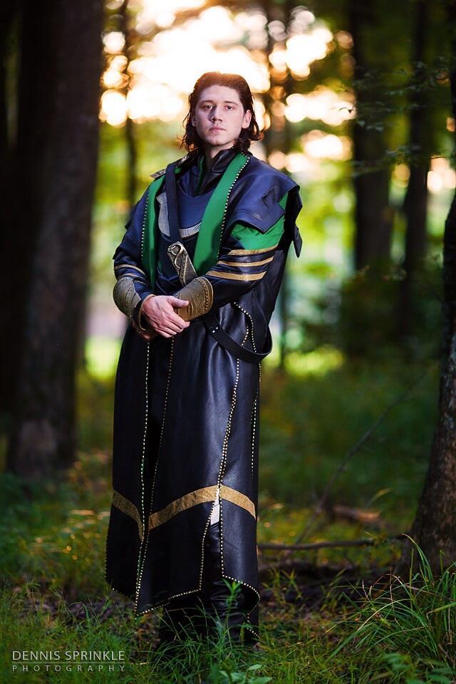Loki Standing Pose by Wolfariusorca