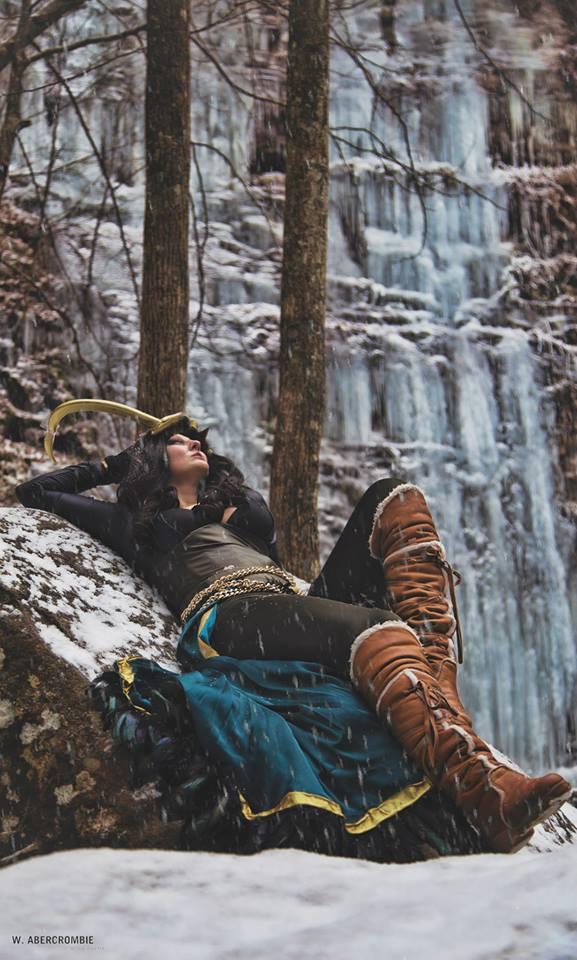 Lady Loki Cosplay Shoot by Wolfariusorca