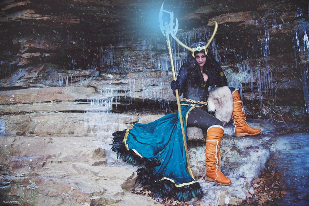 Lady Loki Cosplay Ice Ice Lady by Wolfariusorca