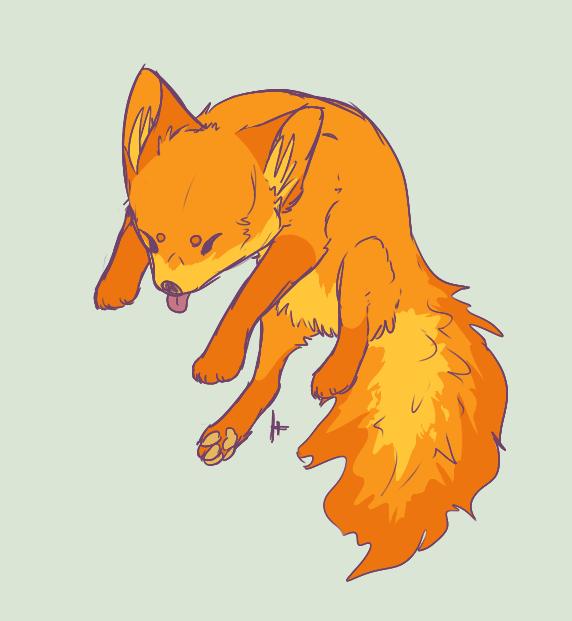 Firefox sketch by DenimBirdie