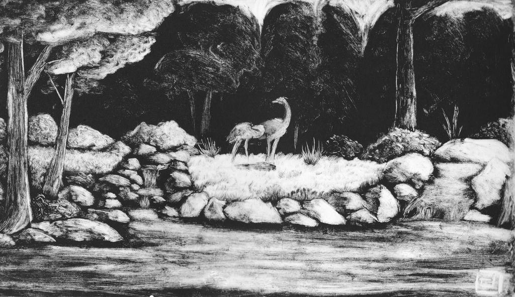The Solemn Stream by DenimBirdie