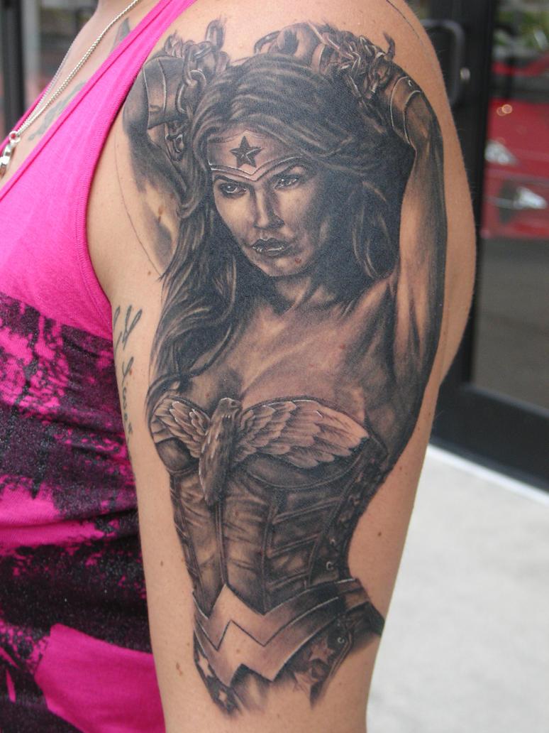 Wonder Woman by mrstaggerlee