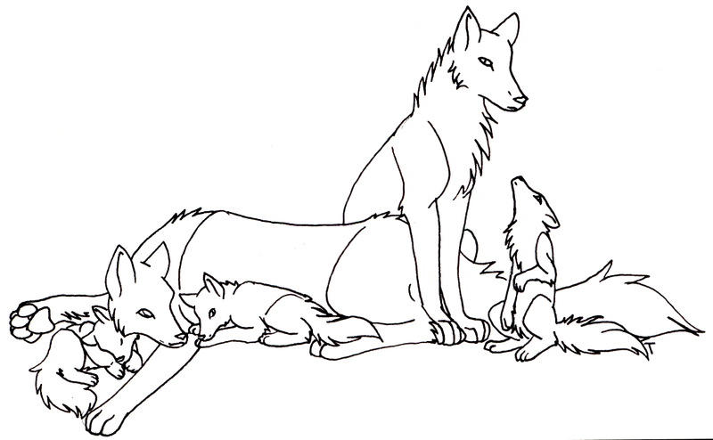 Winged Cats Coloring Pages Family