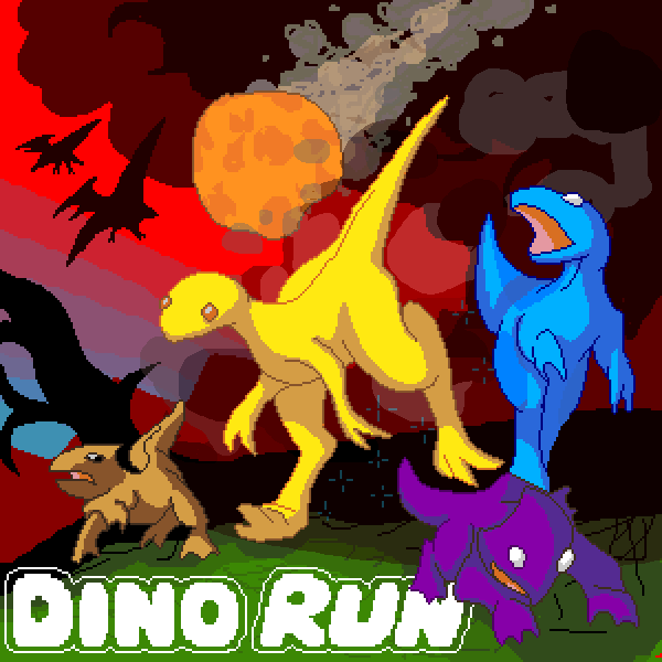 You must help these Jurassic dinosaurs escape their fate 65 million years ago! #ArcadeGames #RetroGames  DinosaurGames