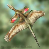 Sharovipteryx by PixelMecha