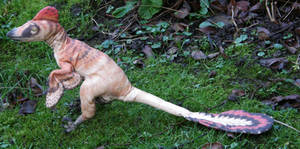 Velociraptor plush