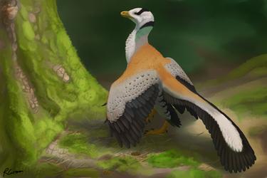 Archaeopteryx by PixelMecha