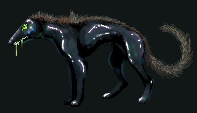 Black Dog by PixelMecha