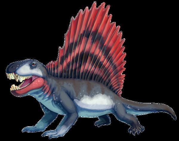 Dimetrodon by PixelMecha
