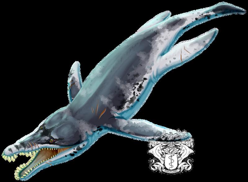Pliosaurus funkei by PixelMecha