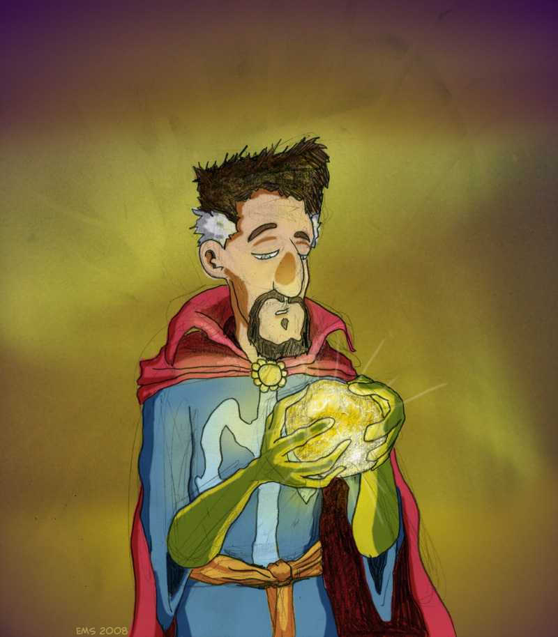 Another Dr. Strange by flyingsquiggle