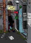 sci fi alley colored redux