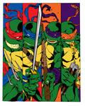 Ninja Turtles Color