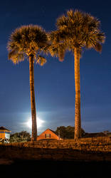 Nighttime in St. Augustine, Florida by AnimaSoucoyant