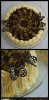 Chocolate And Orange Cake by YellowDaw