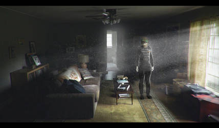 Ghost in the living Room