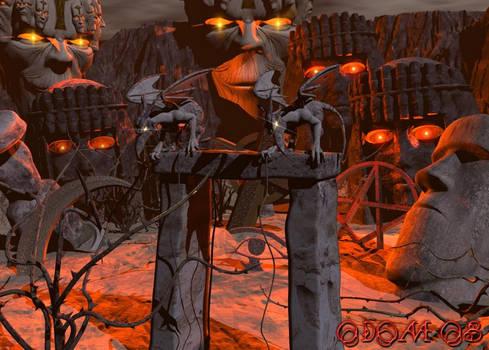 Malific 3 Idols and Icons by dragonsmyth