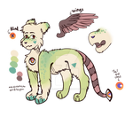 [adoptable] eyetail OPEN points and paypal by colorthekitten