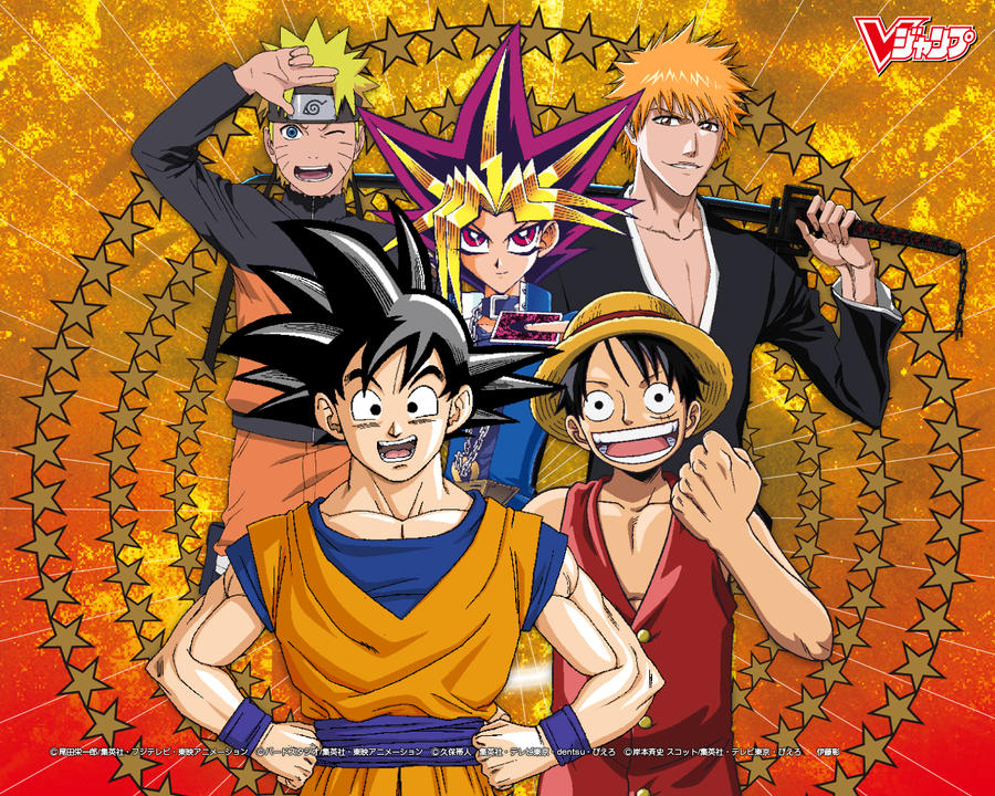 Anime Manga Heroes by Yugo-Killer