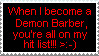 When I become a demon barber.. by LilyYamamoto