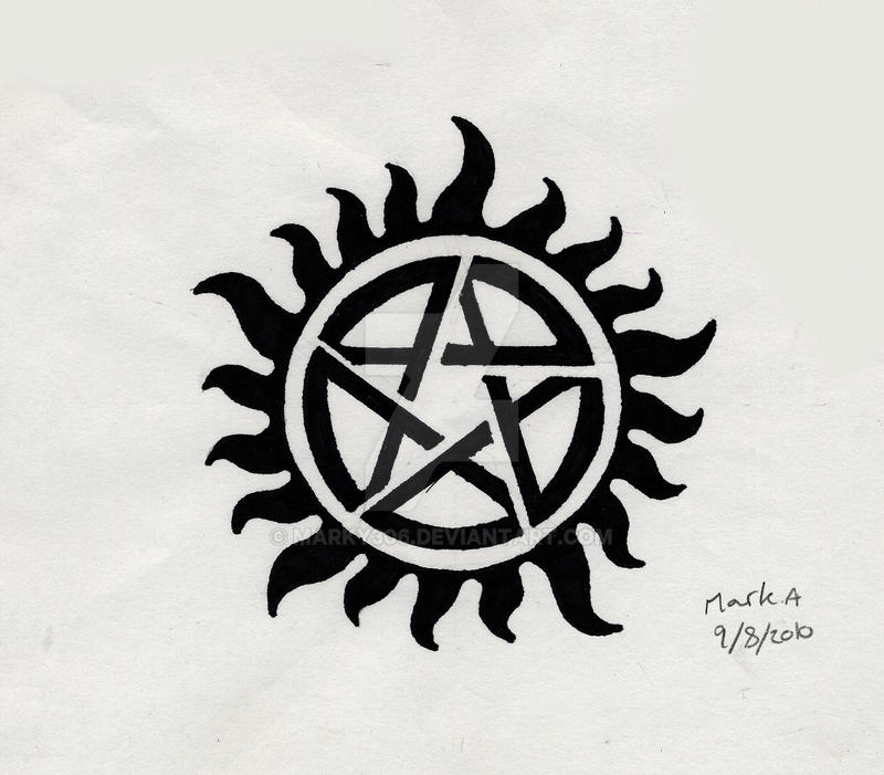 Supernatural Show Tattoos: Supernatural Tattoo By Marky306 On DeviantArt
