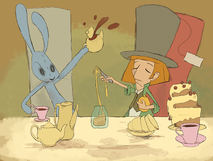 The tea party by MyArcher
