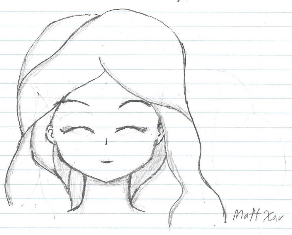 Sketch Eyes Closed By Mattxav On Deviantart