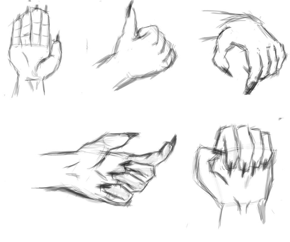 drawing hands practice by thecrimsonswordsman on deviantart
