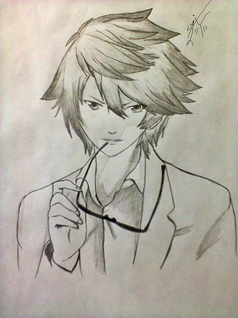 Anime Boy By Sasu Sakuu On Deviantart